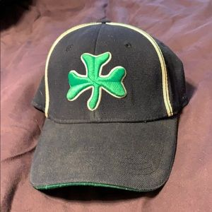Notre Dame Top of the World Large 1 Fit logo hat